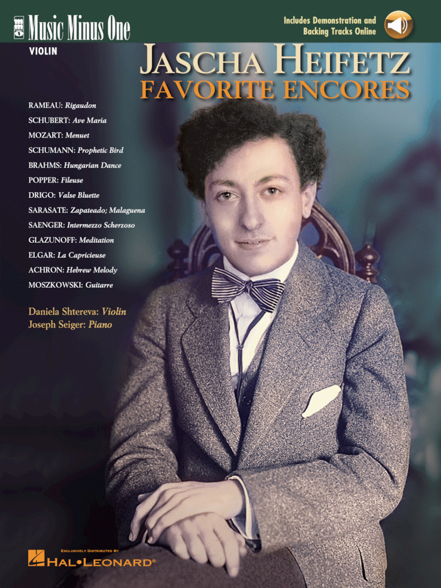 Jascha Heifetz Favorite Encores (2 CD Set)