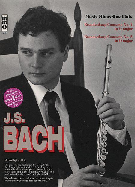 J.S. BACH: Brandenburg Concerti Nos. 4 in G major (BWV1049) & 5 in D major (BWV1050) (Digitally Remastered 2 CD set)