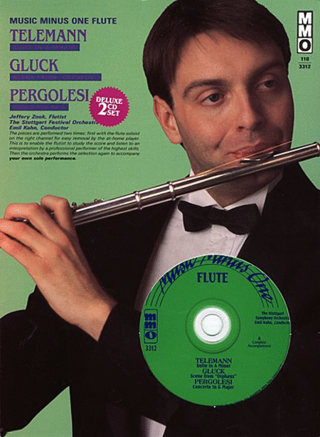 TELEMANN: Suite A minor; GLUCK: 'Orpheus' scene; PERGOLESI: Concerto G major (2 CD Set)