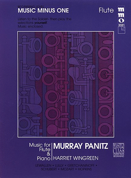 Beginning Flute Solos, Vol. I (Murray Panitz)