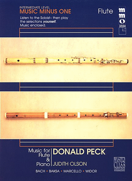 Donald Peck - Intermediate Flute Solos Volume 2