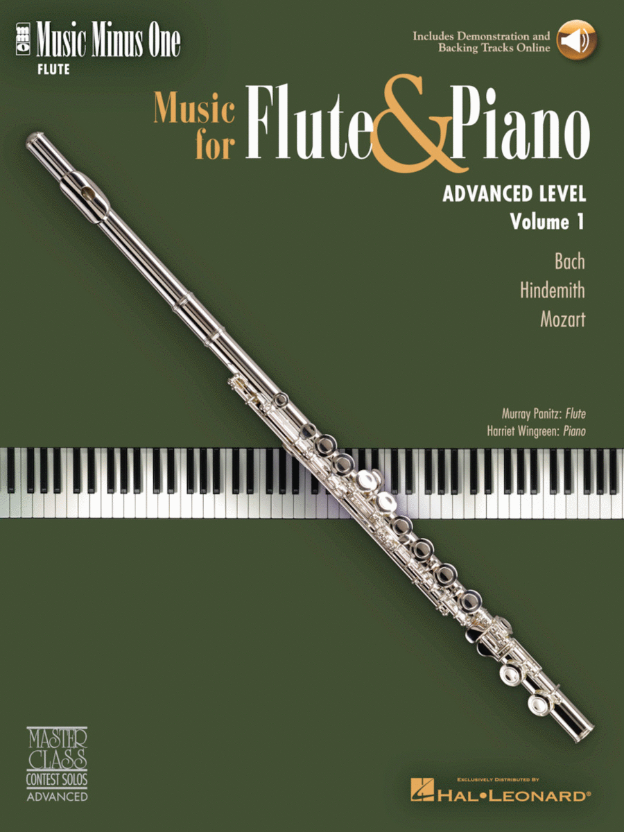 Advanced Flute Solos, Vol. I (Murray Panitz)