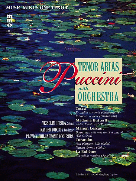 Puccini - Arias for Tenor and Orchestra Volume 1