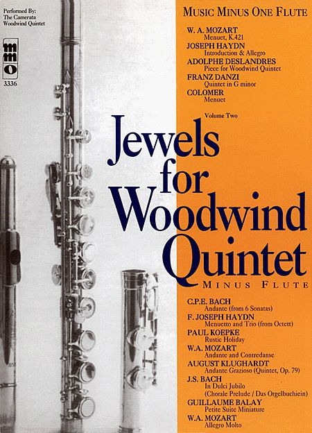 Woodwind Quintets, Volume II: Jewels for Woodwind Quintet