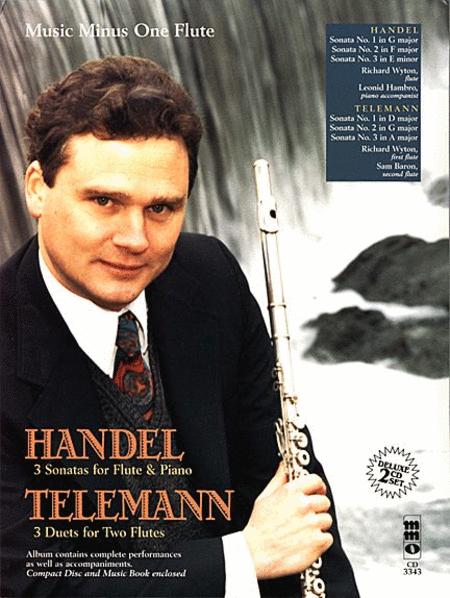 HANDEL: Three Sonatas for Flute & Piano; TELEMANN: Three Duet Sonatas for Two Flutes (2 CD Set)
