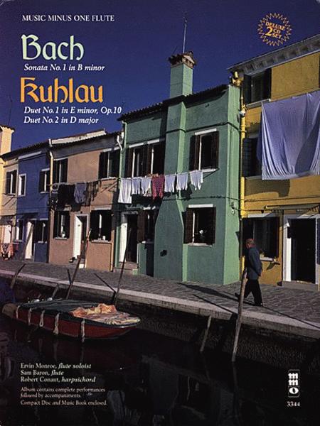 J.S. BACH: Flute Sonata No. 1 in B minor, BWV1030/KUHLAU: Two Duets (2 CD set)
