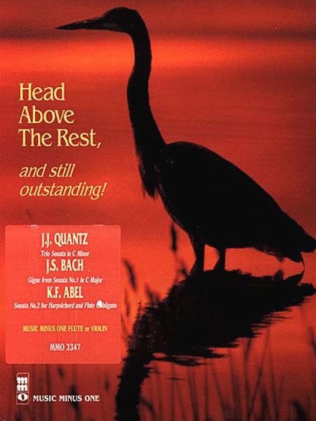 QUANTZ: Trio Sonata in C minor; BACH: Gigue from Sonata No. 1 in C; ABEL Sonata No. 2 in F major