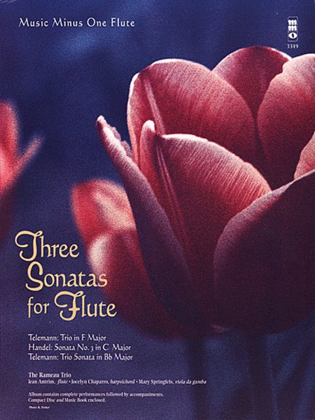 Three Sonatas for Flute