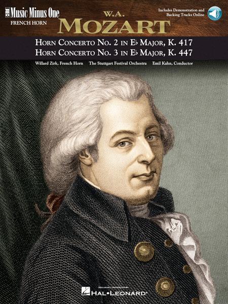 MOZART: Concerto No. 2 in E-flat major, KV417; Concerto No. 3 in E-flat major, KV447