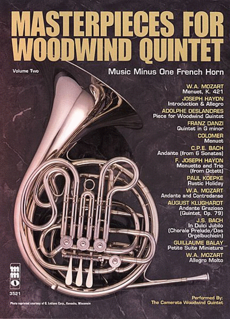 Woodwind Quintets, Volume II: Masterpieces for Woodwind Quintet