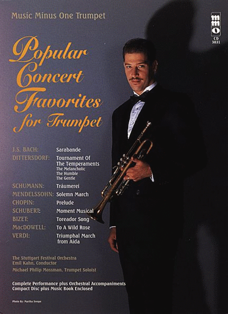 Popular Concert Favorites for Trumpet with Orchestra