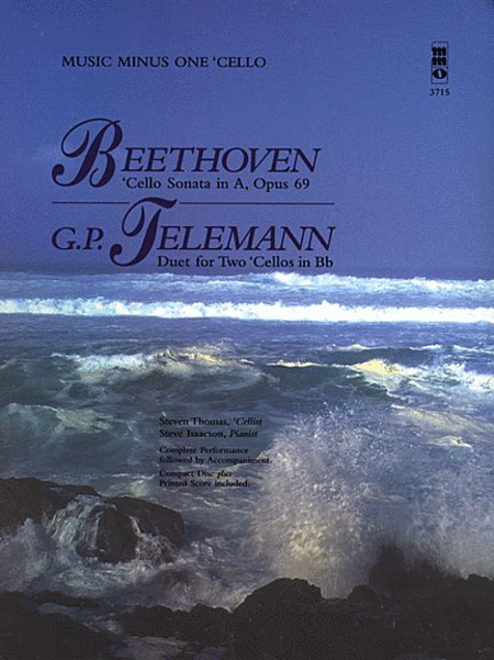 Beethoven - Cello Sonata in A, Op. 69; Telemann - Duet for Two Cellos in Bb