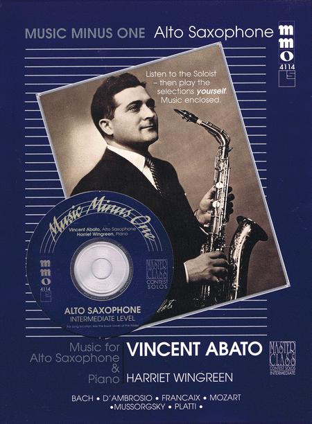 Intermediate Alto Sax Solos - Volume 2 (Vincent Abato)