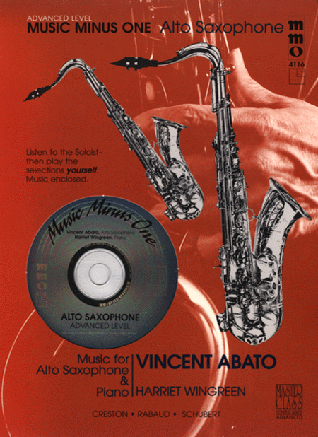 Advanced Alto Sax Solos - Volume 2