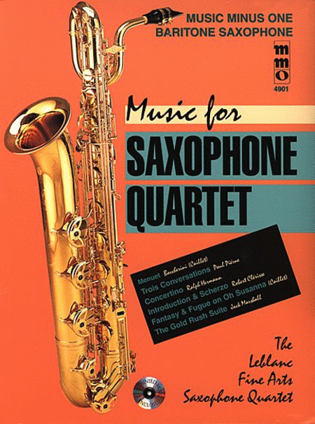 Music For Saxophone Quartet Sheet Music By Various - Sheet ...