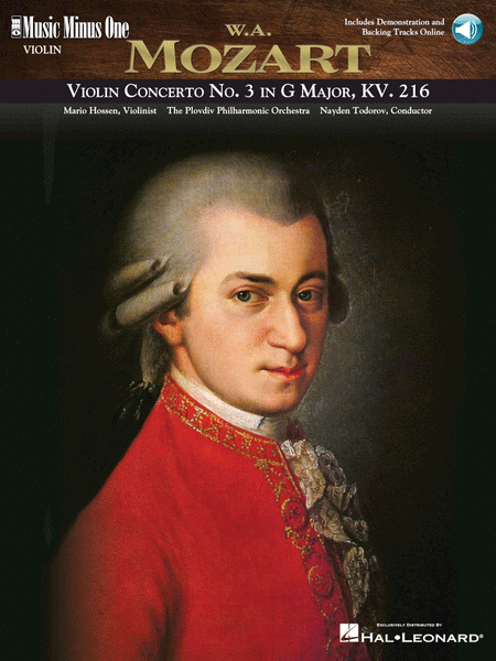 MOZART: Violin Concerto No. 3 in G major, KV216 (Digitally Remastered edition)