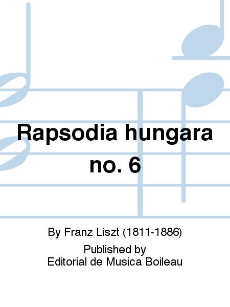 Rapsodia hungara no. 6