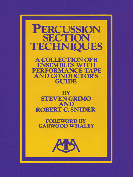 Percussion Ensemble Techniques