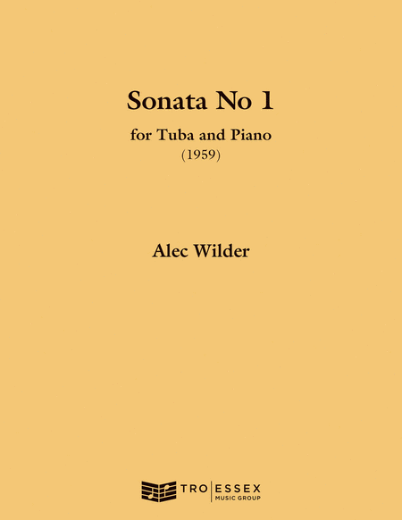 Sonata for Tuba and Piano (1959)