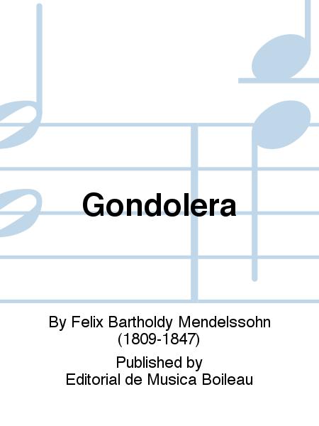 Gondolera