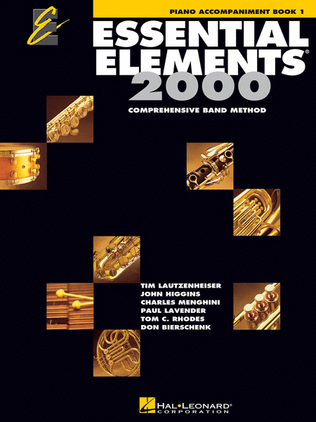 Essential Elements 2000, Book 1 (Piano Accompaniment)