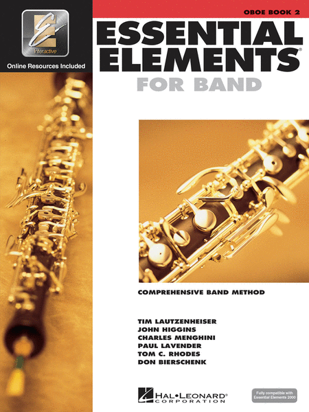 Essential Elements for Band - Book 2 with EEi (Oboe)