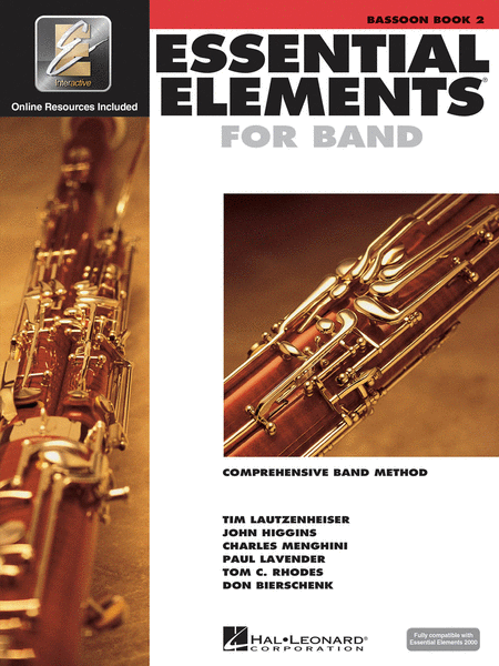 Essential Elements 2000 - Book 2 (Bassoon)
