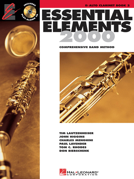 Essential Elements 2000 - Book 2 (Eb Alto Clarinet)