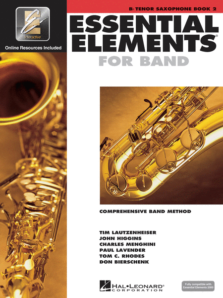 Essential Elements 2000 - Book 2 (Bb Tenor Saxophone)