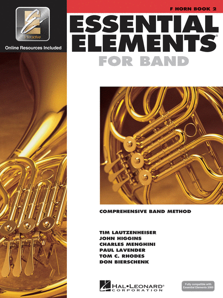 Essential Elements 2000 - Book 2 (F Horn)