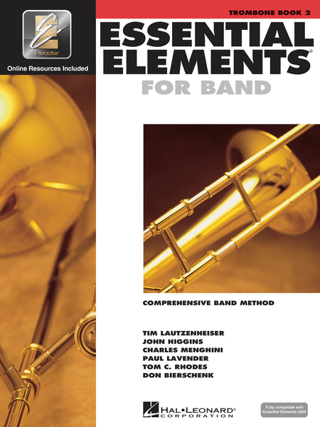 Essential Elements 2000 - Book 2 (Trombone)