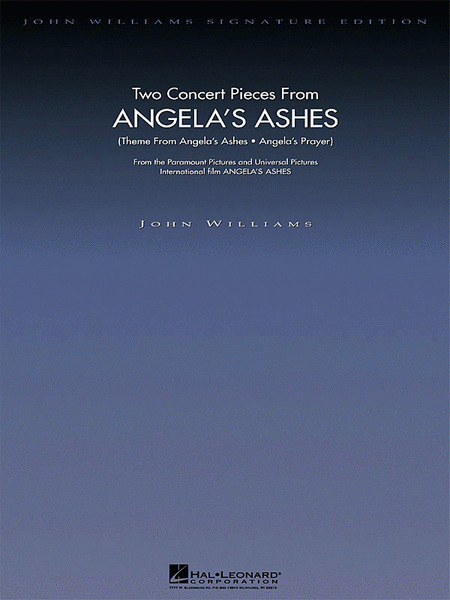 Two Concert Pieces from Angela's Ashes - Deluxe Score