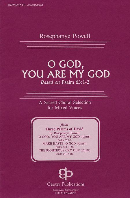 O God, You Are My God