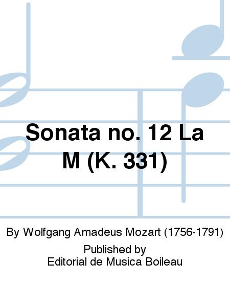 Sonata no. 12 La M (K. 331)