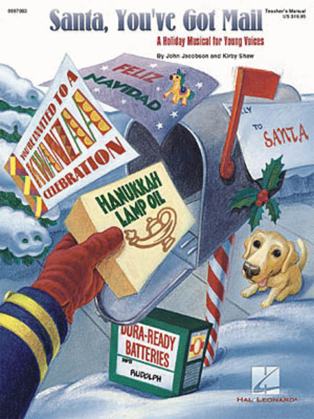 Santa, You've Got Mail (An International Holiday Celebration) - ShowTrax CD (CD only)