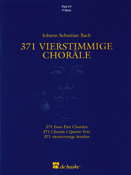371 Vierstimmige Chorale (Four-Part Chorales)