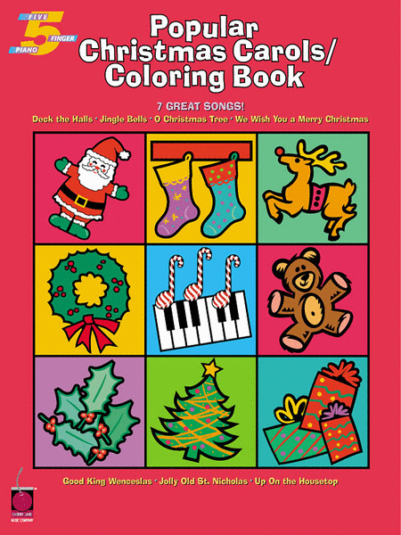 Popular Christmas Carols Coloring Book