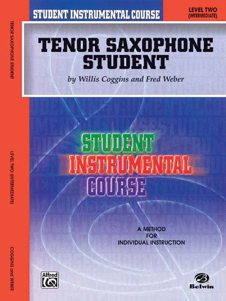 Student Instrumental Course Tenor Saxophone Student