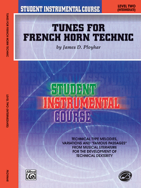 Student Instrumental Course Tunes for French Horn Technic