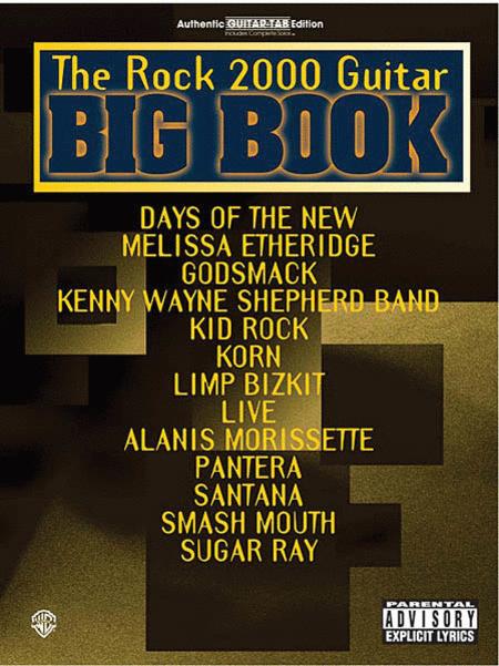 The Rock 2000 Guitar Big Book