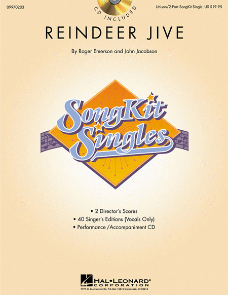 Reindeer Jive (SongKit Single)