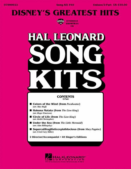 Disney's Greatest Hits (Song Kit #40)