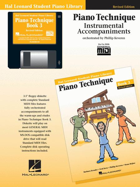 Piano Technique Book 3 - GM Disk