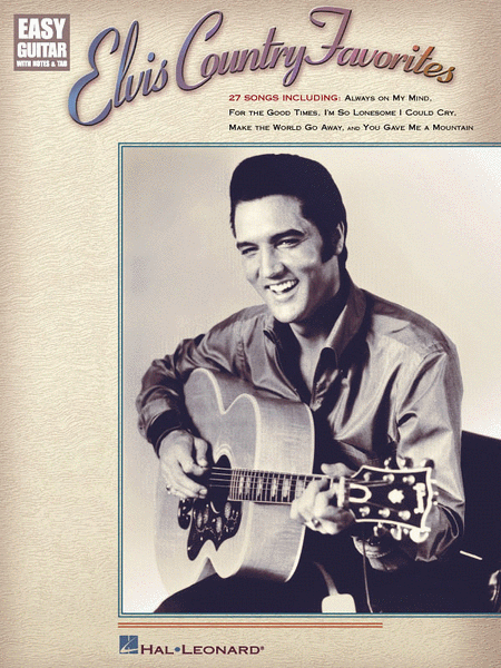 Elvis Country Favorites - Easy Guitar
