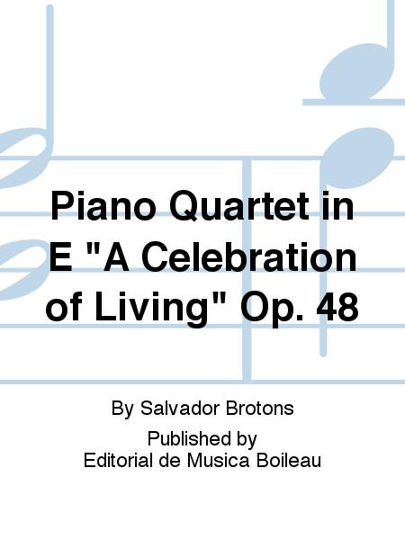 Piano Quartet in E