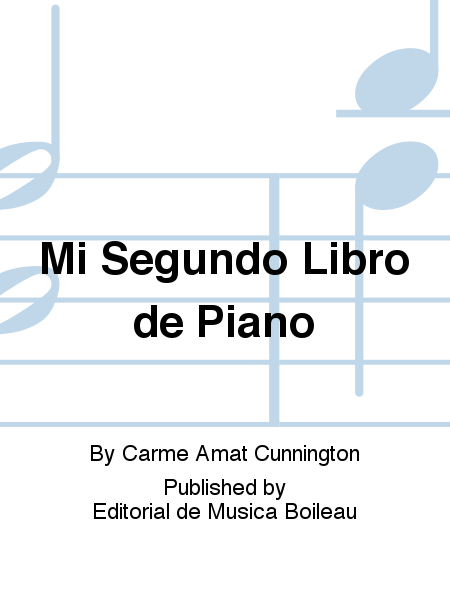 Mi Segundo Libro de Piano