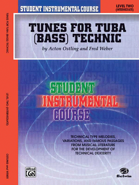 Student Instrumental Course Tunes for Tuba Technic