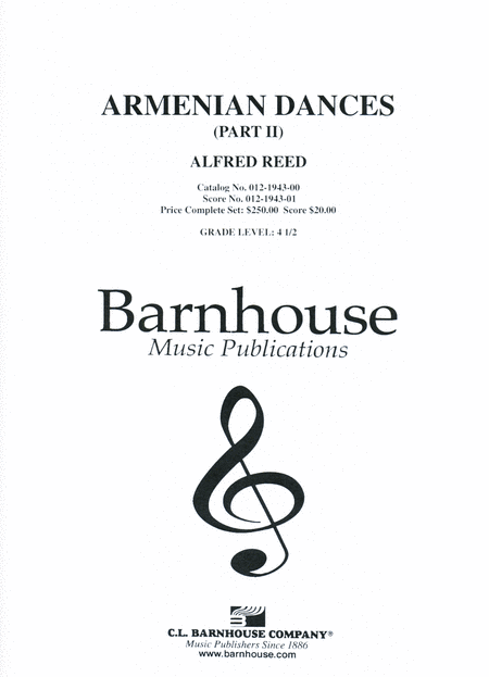 Armenian Dances, Part II