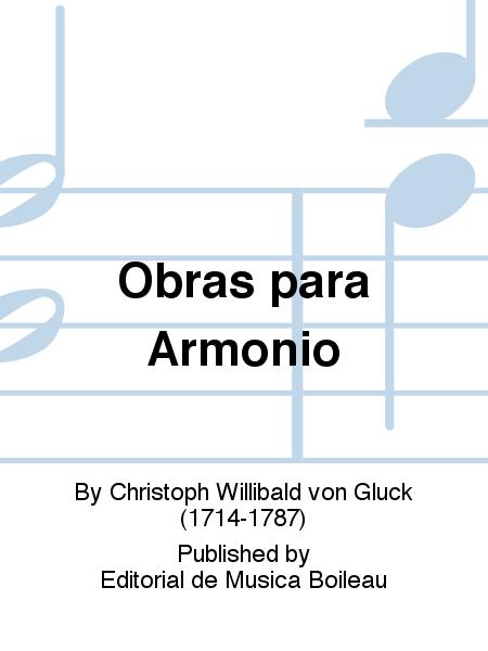 Obras para Armonio