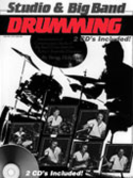 Studio and Big Band Drumming (Book and 2 CDs)